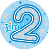 Expression Factory - I Am 2 - Boy - Badge (Giant)