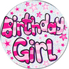 Expression Factory - Birthday Girl Badge (Giant)