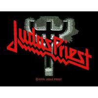 Judas Priest - Logo/Fork Sew On Patch - Cover