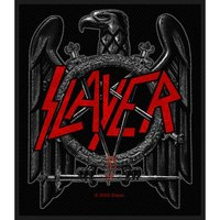 Slayer Black Eagle Sew On Patch - Cover