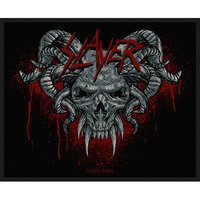 Slayer Demonic Sew On Patch - Cover
