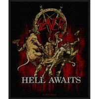 Slayer Hell Awaits Sew On Patch - Cover