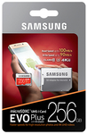 Samsung - MB-MC256G Evo + Micro SD 256GB With Adapter Memory Card