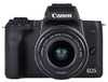 Canon - M50 + EF-M 15-45mm f/3.5-6.3 IS STM + EF-M 22mm f/2 STM Mirrorless DSLR Digital Camera