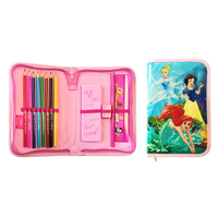 Disney - Princess Single Zip Filled Pencil Case - Cover