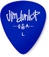 Dunlop 486PLT Gels Light Guitar Pick (Blue)
