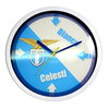 S.S. Lazio - Club Crest Round Wall Clock