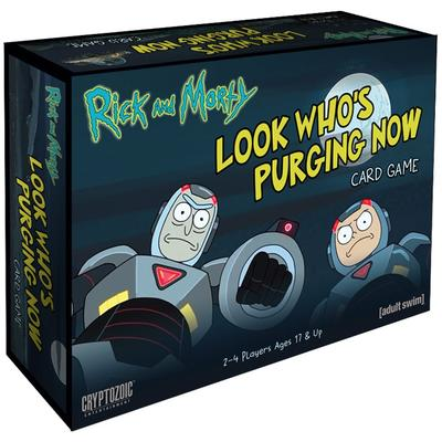 Rick and Morty - Look Who's Purging Now (Card Game)