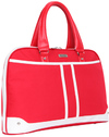 Black Casual Ladies 15.6 Inch Notebook Bag - Red and White