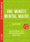 One Minute Mental Maths For Ages 7-9 - Brodie Andrew (Paperback)