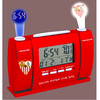 Sevilla Madrid - Club Crest Digital Projector Alarm Clock