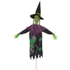 Amscan - Halloween Scary Witch Garden Stakes (45cm x 1.2m)