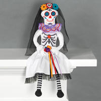 Amscan - Halloween Day of the Dead Bride Critter Sitters (50cm)