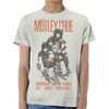 Motley Crue Vintage Sex Drugs Rock & Roll '83 Tour Men's White T-Shirt (X-Large)