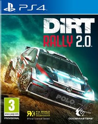 DiRT Rally 2.0 (PS4) - Cover