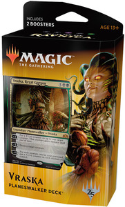 Magic: The Gathering - Guilds of Ravnica Preconstructed Deck - Vraska (Trading Card Game) - Cover