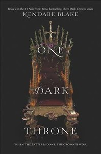 One Dark Throne - Kendare Blake (Paperback)