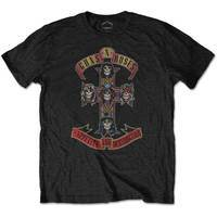 Guns N' Roses - Packaged Appetite For Destruction T-Shirt (Small) - Cover
