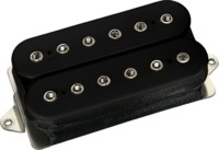 DiMarzio DP163FBK Bluesbucker F-Spaced Electric Guitar Humbucker Pickup - All Positions (Black) - Cover