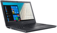 Acer - TravelMate 2510-G2-M-84ND i7-8550U 4GB DDR4 500GB HDD No ODD Win 10 Pro 15.6 inch Notebook - Cover
