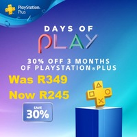 PlayStation Plus 3 Month Membership - 30% Off Promo (PS3/PS4/PS VITA) - Cover