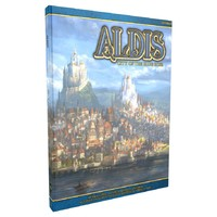 Aldis: City of the Blue Rose Source Book (Role Playing Game) - Cover