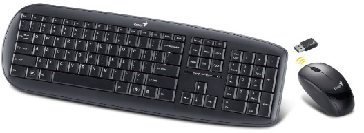 3711c9a1cb3 Genius SlimStar 8000X Wireless Mouse and Keyboard Combo - Black - Cover