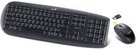 Genius SlimStar 8000X Wireless Mouse and Keyboard Combo - Black - Cover