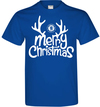 Chelsea - Mens Merry Christmas T-Shirt (Small)