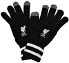 Liverpool - Knitted Gloves - Black Cover