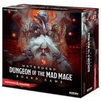 Dungeons & Dragons - Waterdeep: Dungeon of the Mad Mage - Standard Edition (Board Game) - Cover