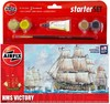 Airfix - HMS Victory Starter Set (Plastic Model Kit)