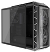 Cooler Master - H500P Tinted Tempered Glass Side Panel Accessory - Light Grey