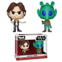 Funko Vynl - Star Wars - Han Solo & Greedo Vynl Figure (Pack of 2) - Cover