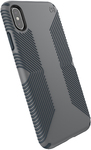 Speck Presidio Grip Series Case for Apple iPhone XS Max - Black and Black