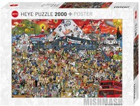 Heye - British Music History Puzzle (2000 Pieces) - Cover