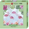 Heye - Flamingos & Lilies, Turnowsky Puzzle (1000 Pieces)