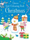 First Colouring Book Christmas - Jessica Greenwell (Paperback)