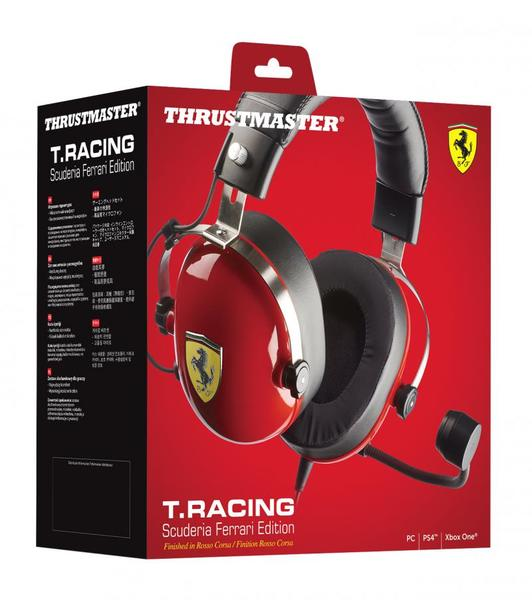 Image result for T.Racing Scuderia Ferrari Edition gaming headset by Thrustmaster
