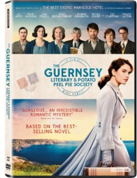 Guernsey & Potato Peel Pie Society (DVD) - Cover