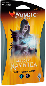 Magic: The Gathering - Guilds of Ravnica Theme Single Booster - Dimir (Trading Card Game) - Cover