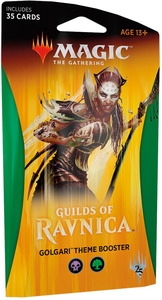 Magic: The Gathering - Guilds of Ravnica Theme Single Booster - Golgari (Trading Card Game) - Cover