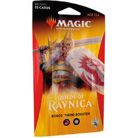 Magic: The Gathering - Guilds of Ravnica Theme Single Booster - Boros (Trading Card Game)