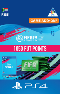 FIFA 19 Ultimate Team Digital - 1050 Points (PS4 Download) - Cover