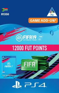 FIFA 19 Ultimate Team Digital - 12000 Points (PS4 Download) - Cover