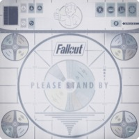 Fallout - Please Stand By Gamemat (Board Game) - Cover