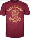 Harry Potter - Gryffindor Quidditch Mens T-Shirt (XX-Large)