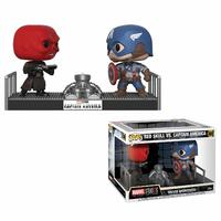Funko Movie Moments - Marvel - Captain America / Red Skull - Cover