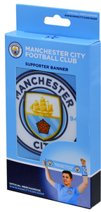 Manchester City - Supporter Banner (Small/Medium) - Cover
