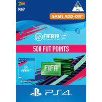 FIFA 19 Ultimate Team Digital - 500 Points (PS4 Download)
